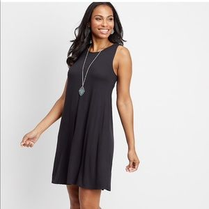 Mauries's 24/7 sleeveless t-shirt dress
